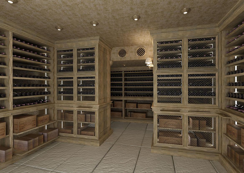 Arredamento cantina interesting vero affare arredamento cantina vino modulare with arredamento - Mobili per cantine ...